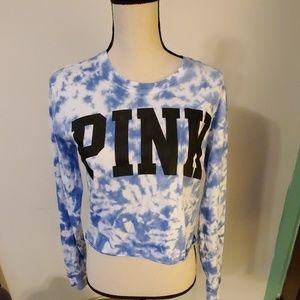 Victoria's Secret PINK Cropped Tshirt Size XS